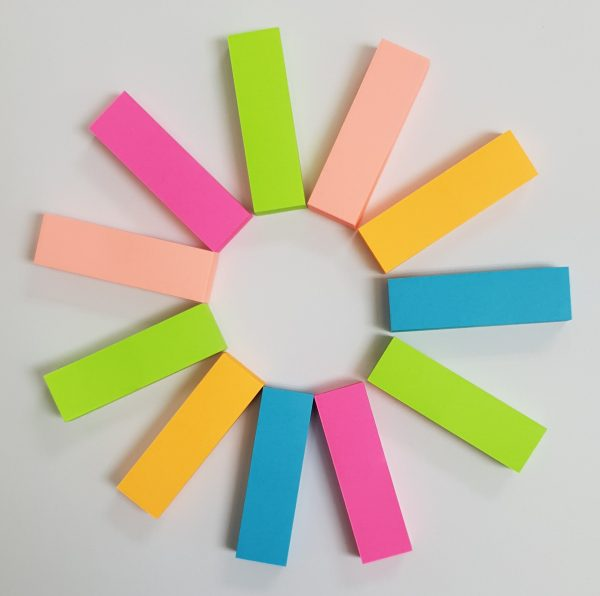 Colored Tabs Stick It